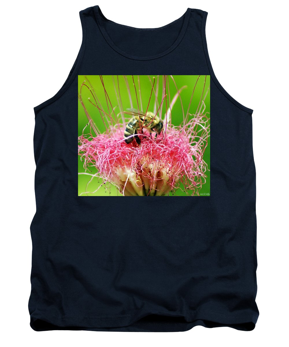 Nature Tank Top featuring the photograph Busy Bee by Holly Kempe