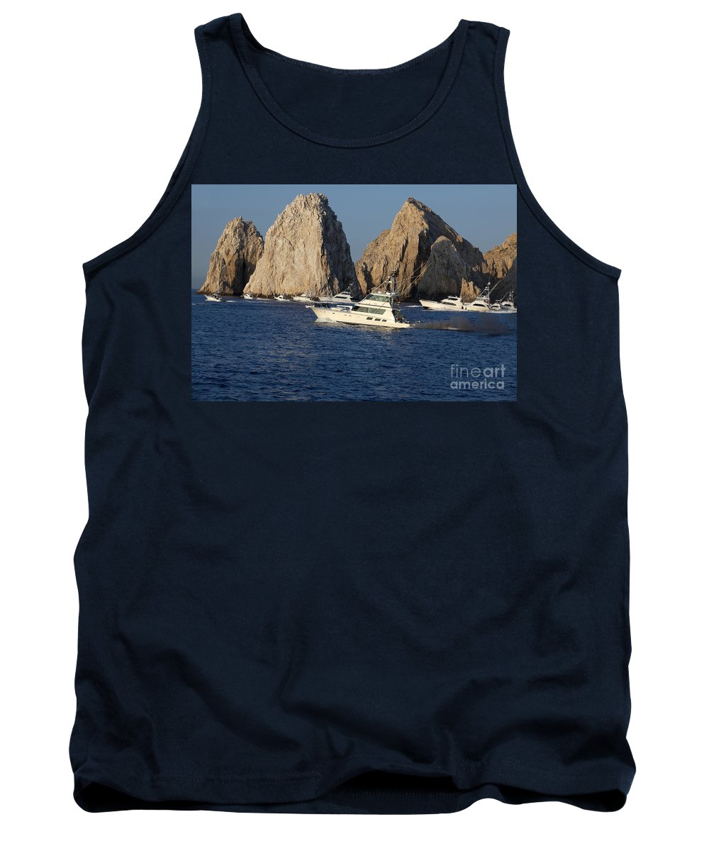 Fishing Tank Top featuring the photograph Cabo San Lucas - Sport Fishing by Anthony Totah