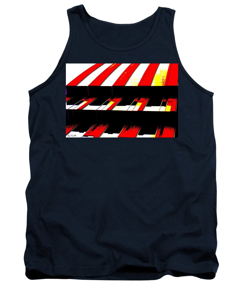 Canopy Couture Tank Top featuring the photograph Canopy Couture by Ed Smith