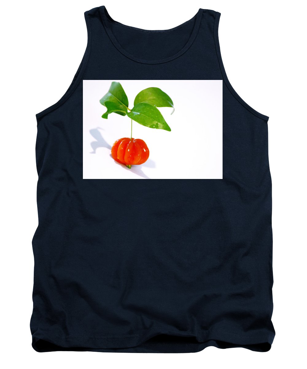 Food Tank Top featuring the photograph Cherry by Holly Kempe
