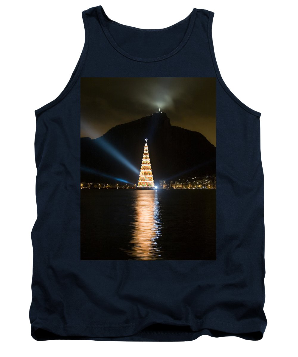 Landscape Tank Top featuring the photograph Christmas In Rio by Sergio Bondioni