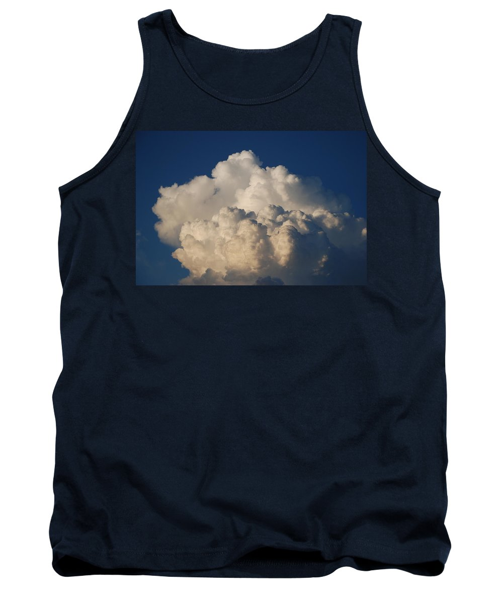Clouds Tank Top featuring the photograph Cloudy Day by Rob Hans