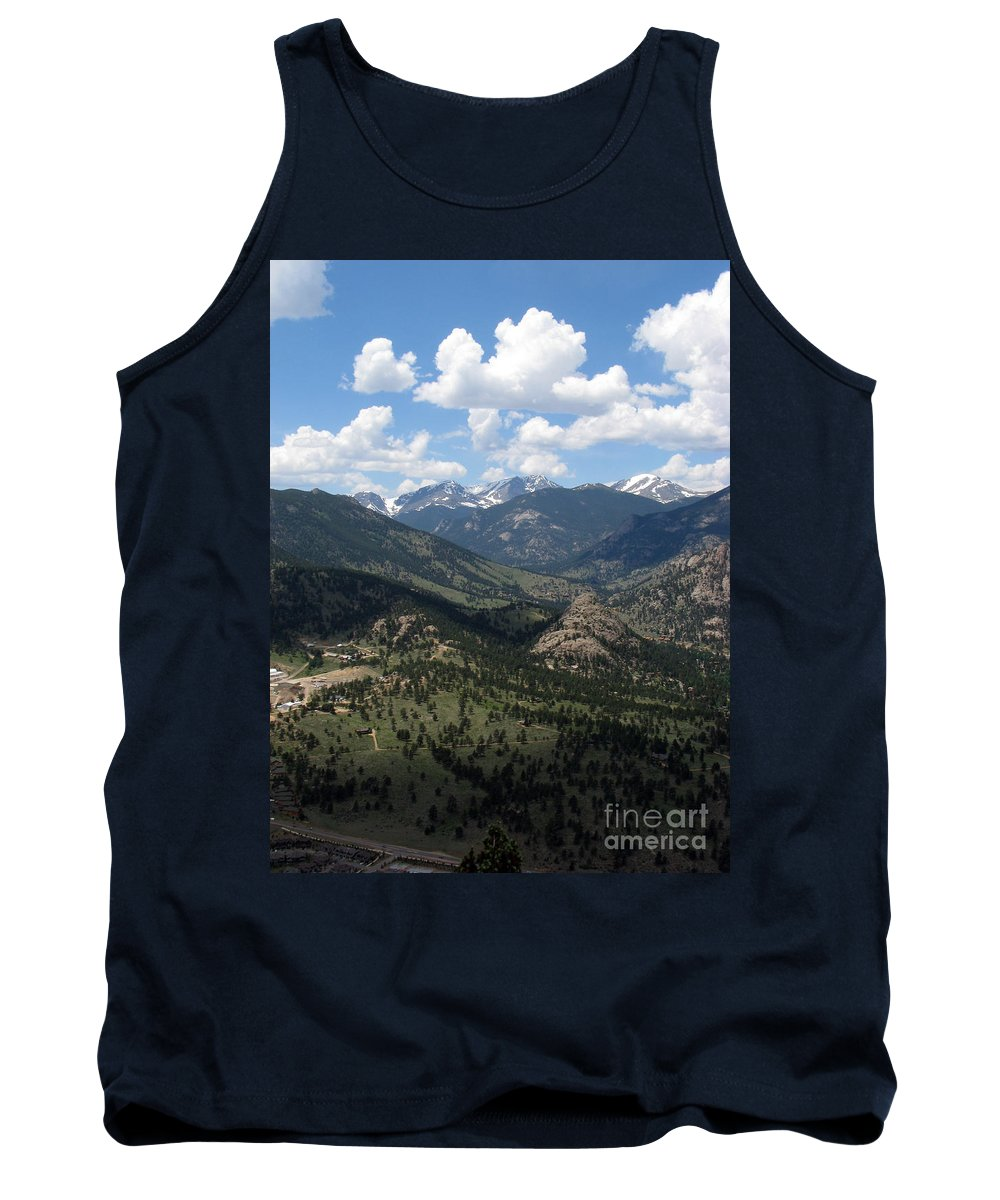 Colorado Tank Top featuring the photograph Colorado by Amanda Barcon