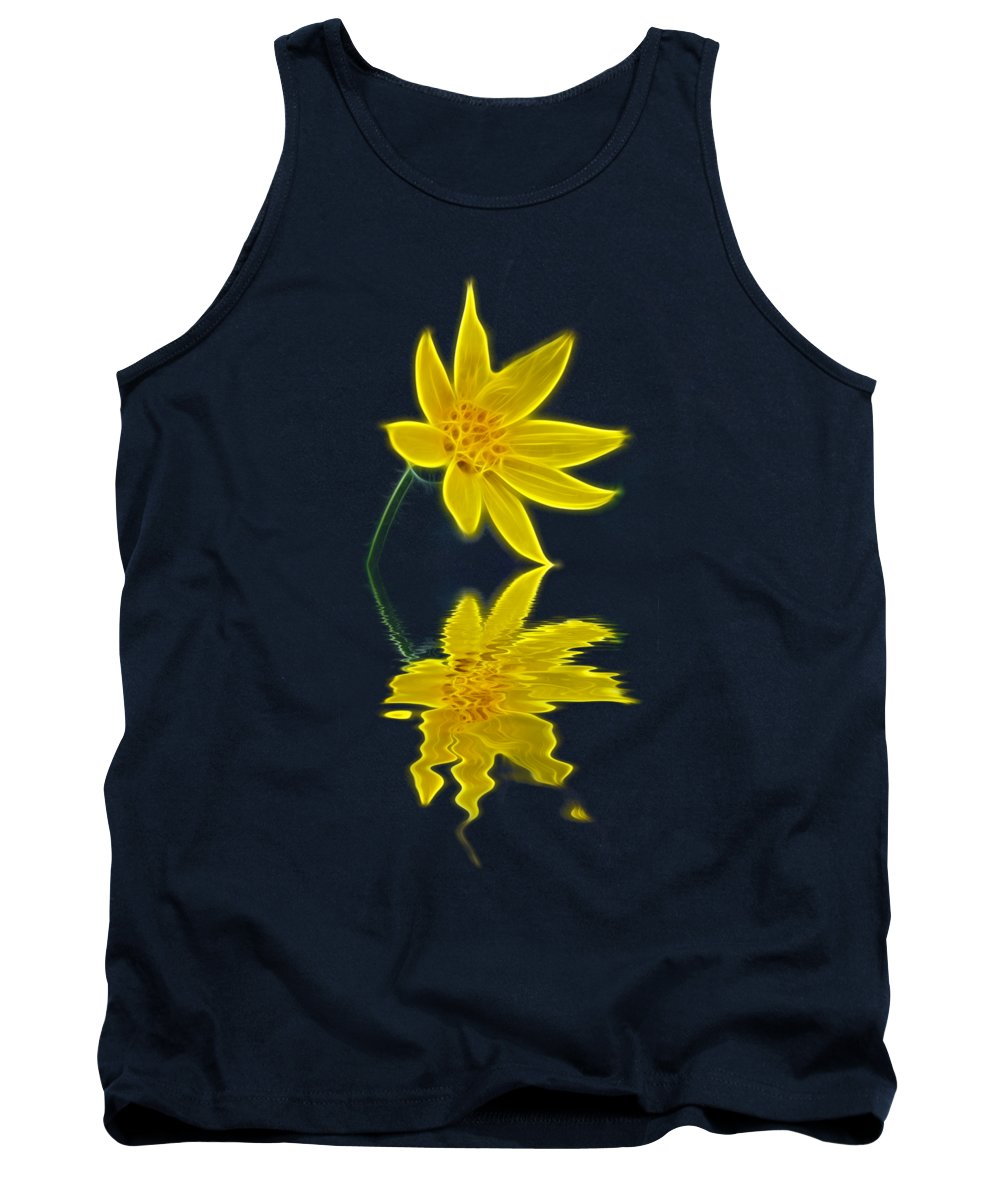 Flower Tank Top featuring the photograph Colorado Wildflower by Shane Bechler