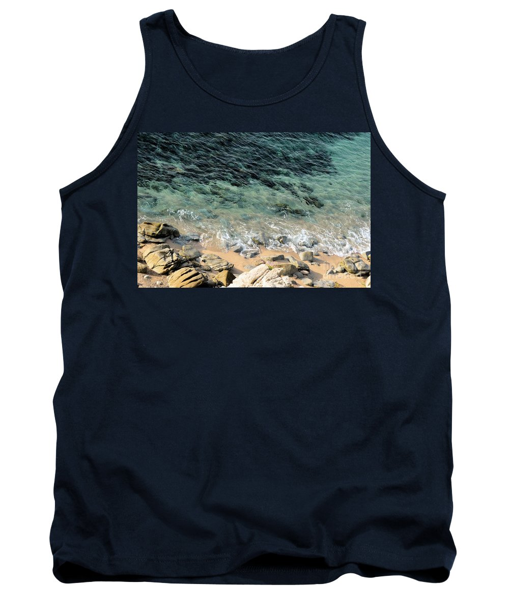 Cabo San Lucas Tank Top featuring the photograph Colorful Pacific Ocean by Luv Photography