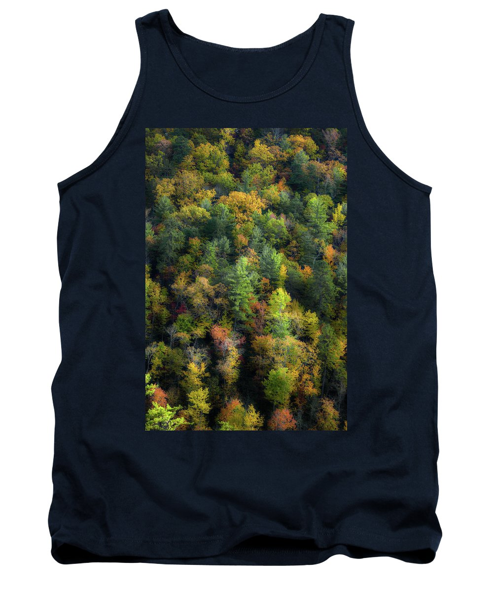 Smoky Mountain Fall Tank Top featuring the photograph Colors Of The Smokies by Michael Eingle