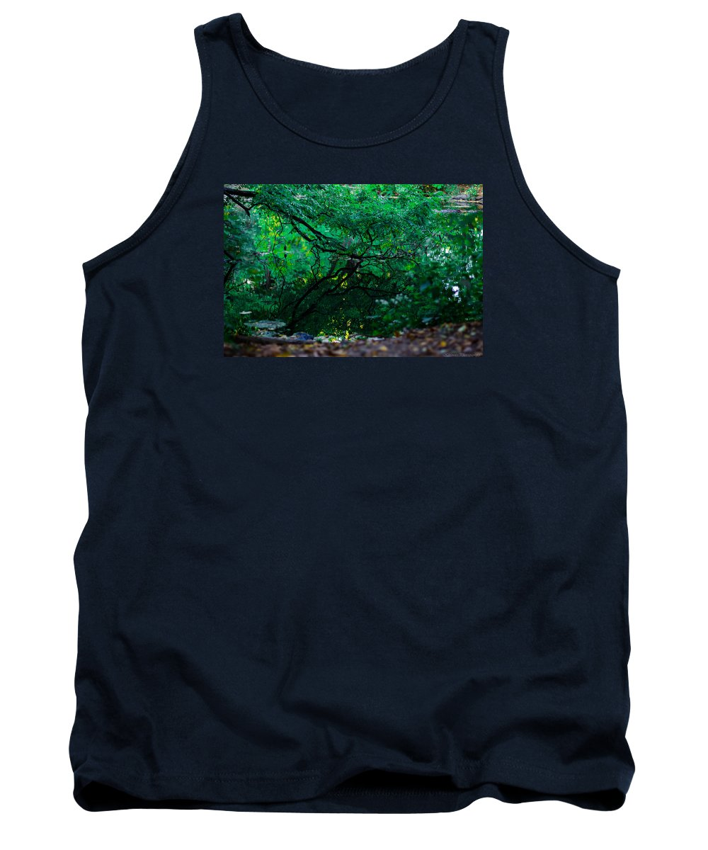 River Tank Top featuring the photograph Crystal River by Saul Tavarez