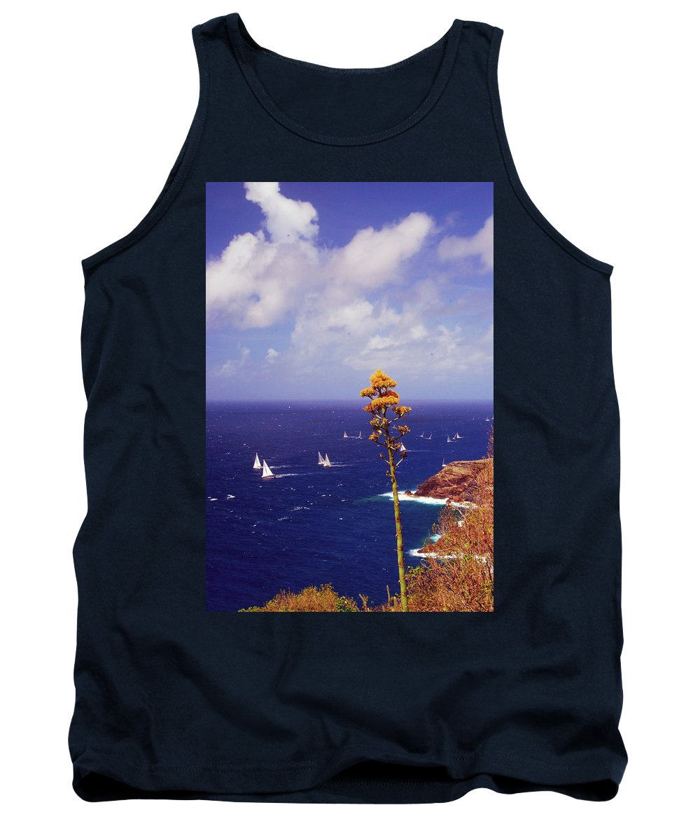 Caribbean Islands Tank Top featuring the photograph Daggers Los Antigua by Gary Wonning