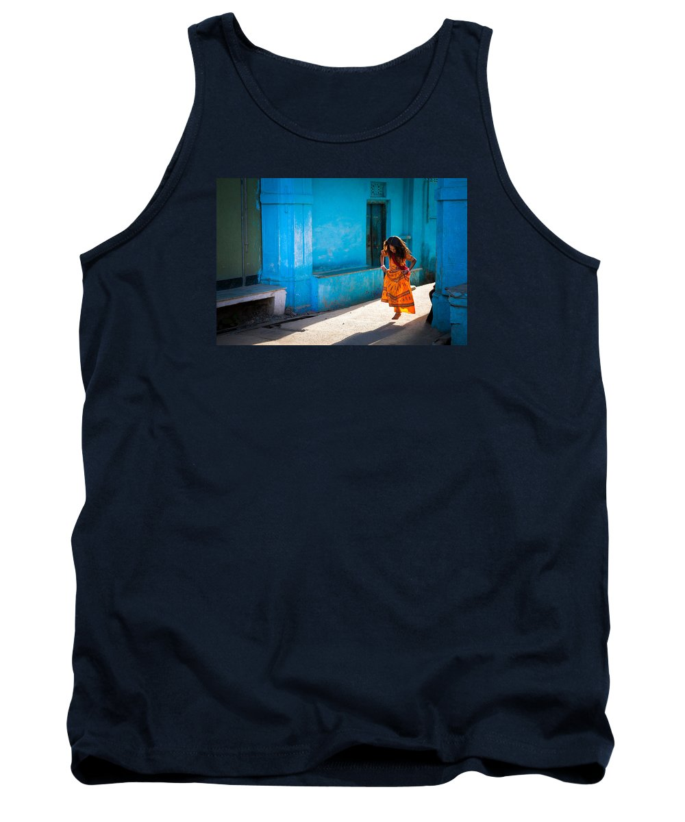India Tank Top featuring the photograph Dancer In The Light by Marji Lang