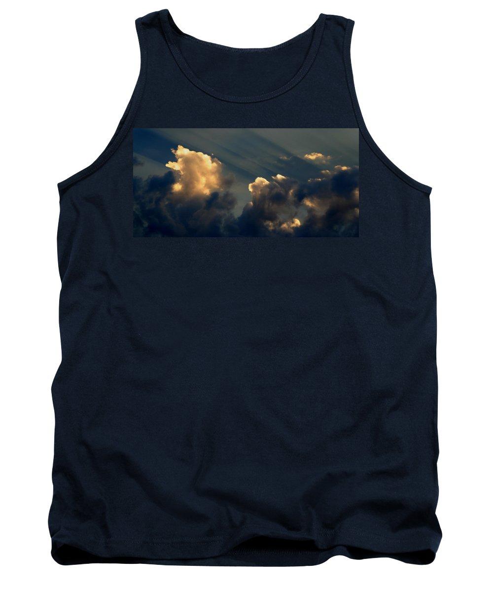 Cloud Tank Top featuring the photograph Dawn Bursting In Air by Joe Kozlowski
