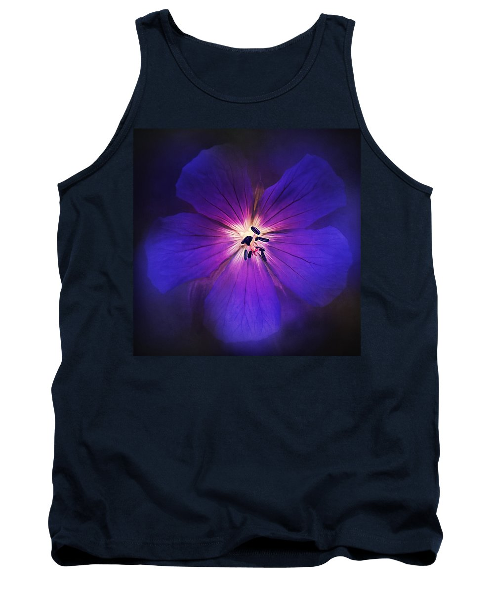 Flowers & Plants Tank Top featuring the photograph Deep In Thought by Laura Macky