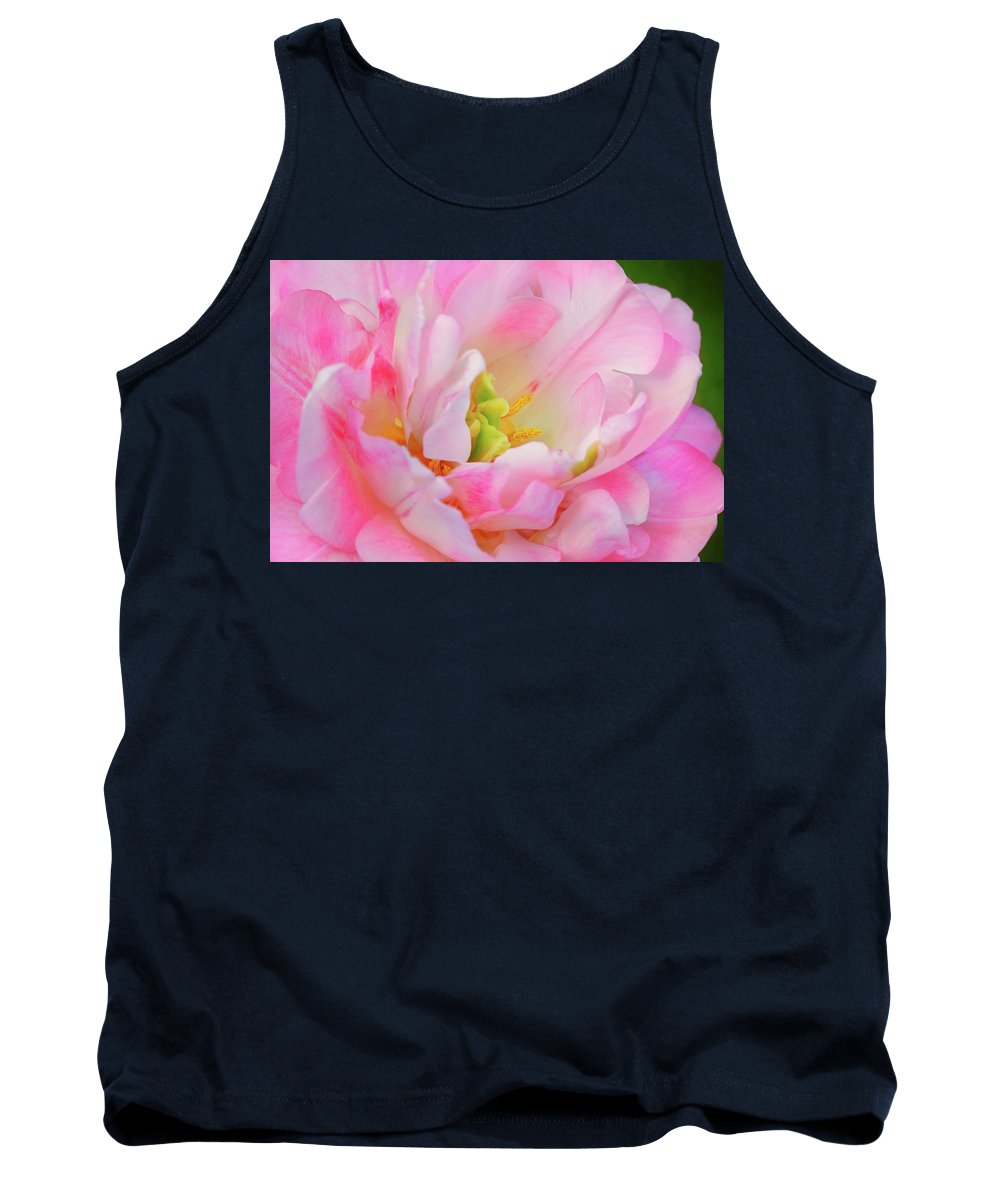 Spring Tank Top featuring the photograph Delicate Tutu by Iryna Goodall