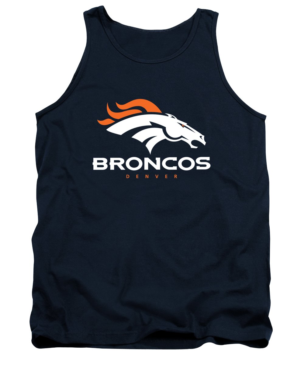 Denver Broncos Nfl Tank Top featuring the photograph Denver Broncos Nfl by Mitro Dente