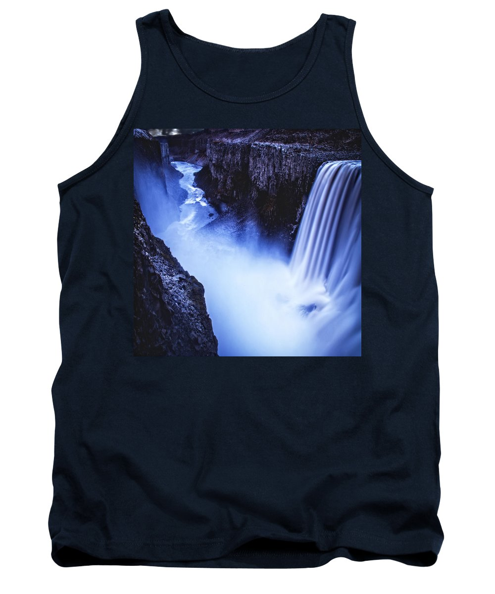 Iceland Tank Top featuring the photograph Dettifoss by Ingrid Smith-Johnsen