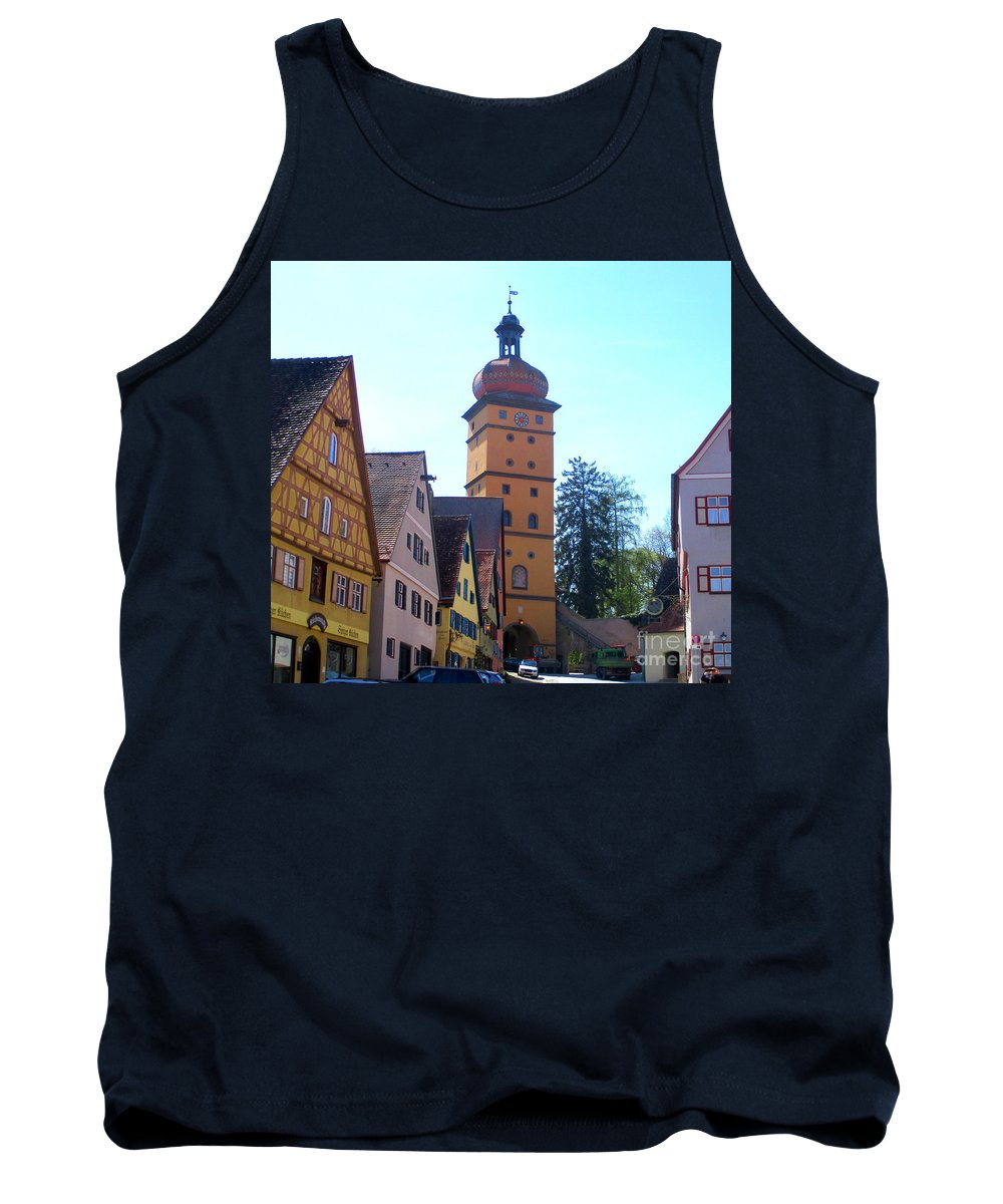 Dinkelsbuhl Tank Top featuring the photograph Dinkelsbuhl 10 by Randall Weidner