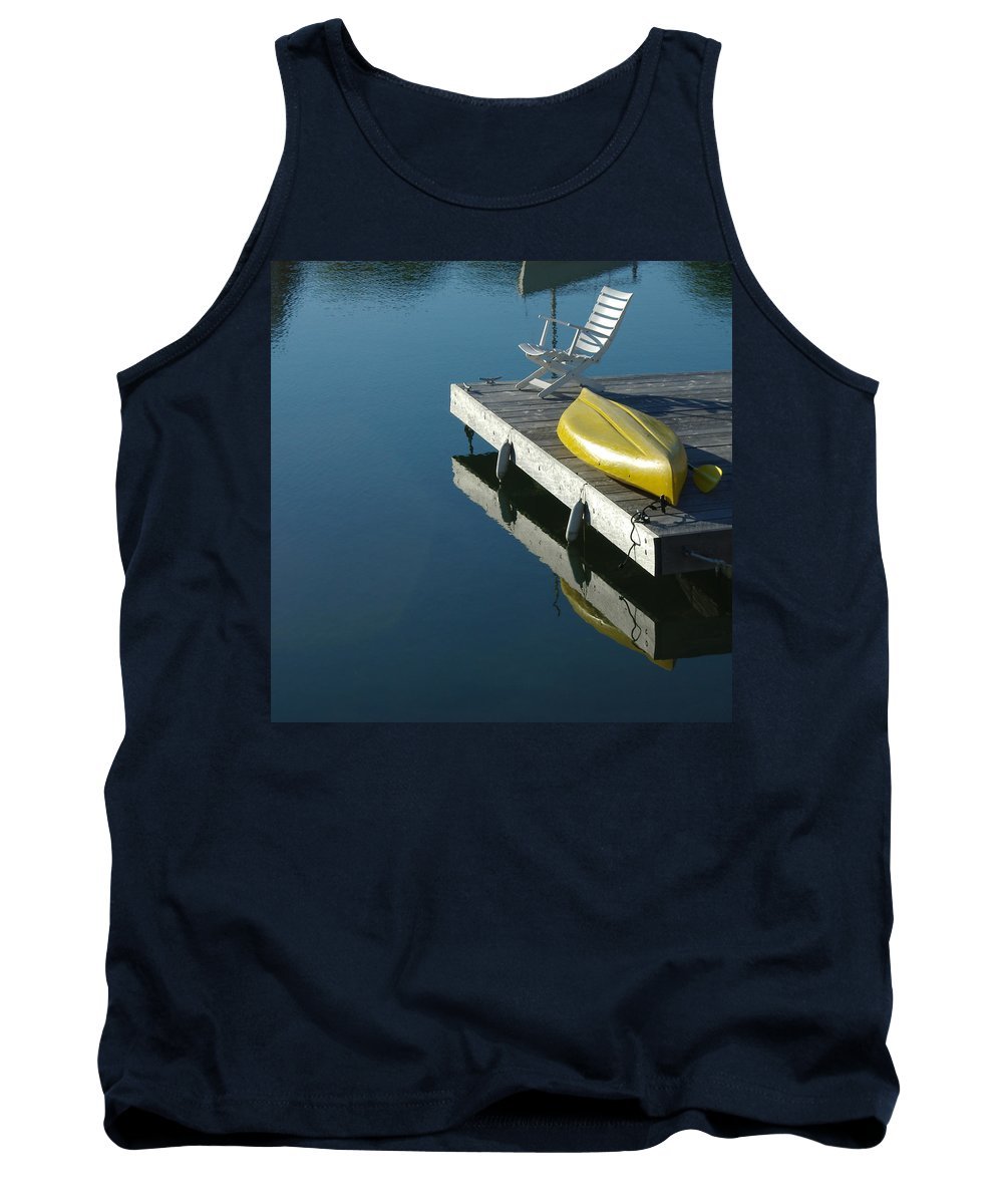 Landscape Nautical New England Kennebunkport Tank Top featuring the photograph Dnre0609 by Henry Butz