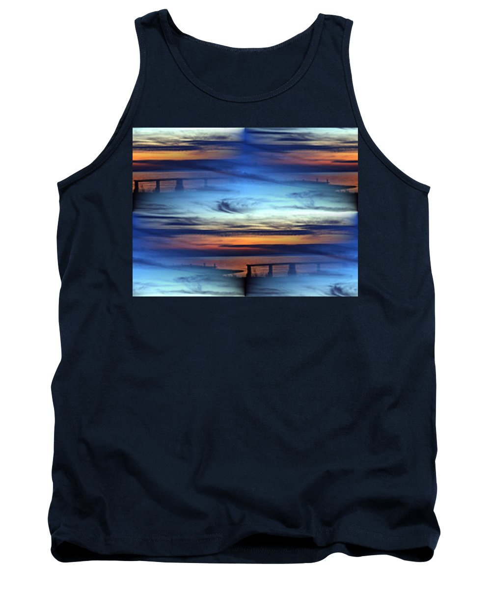 Dock Tank Top featuring the photograph Dock Of The Bay by Tim Allen