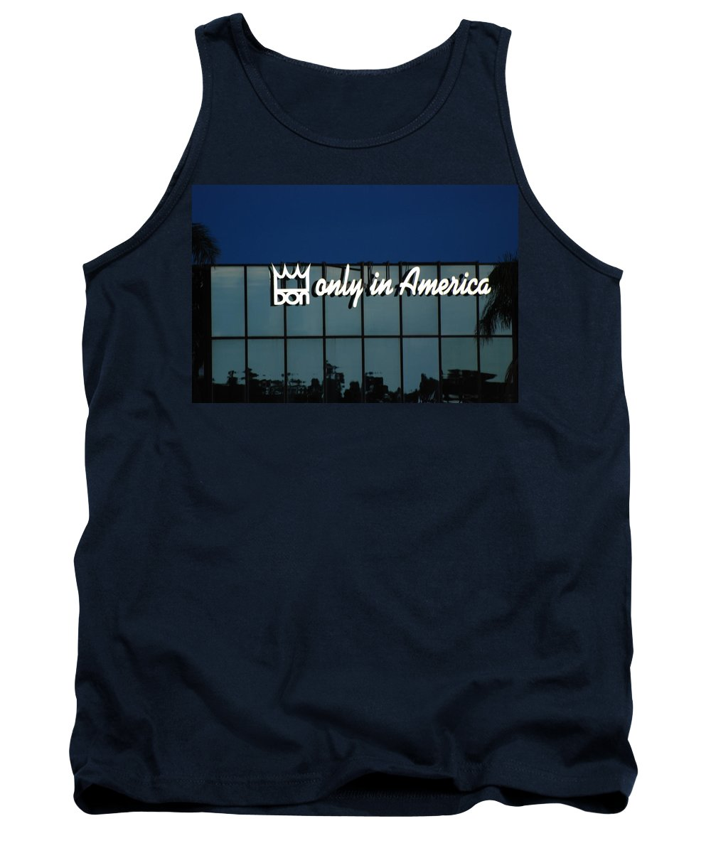 King Tank Top featuring the photograph Don King Only In America by Rob Hans