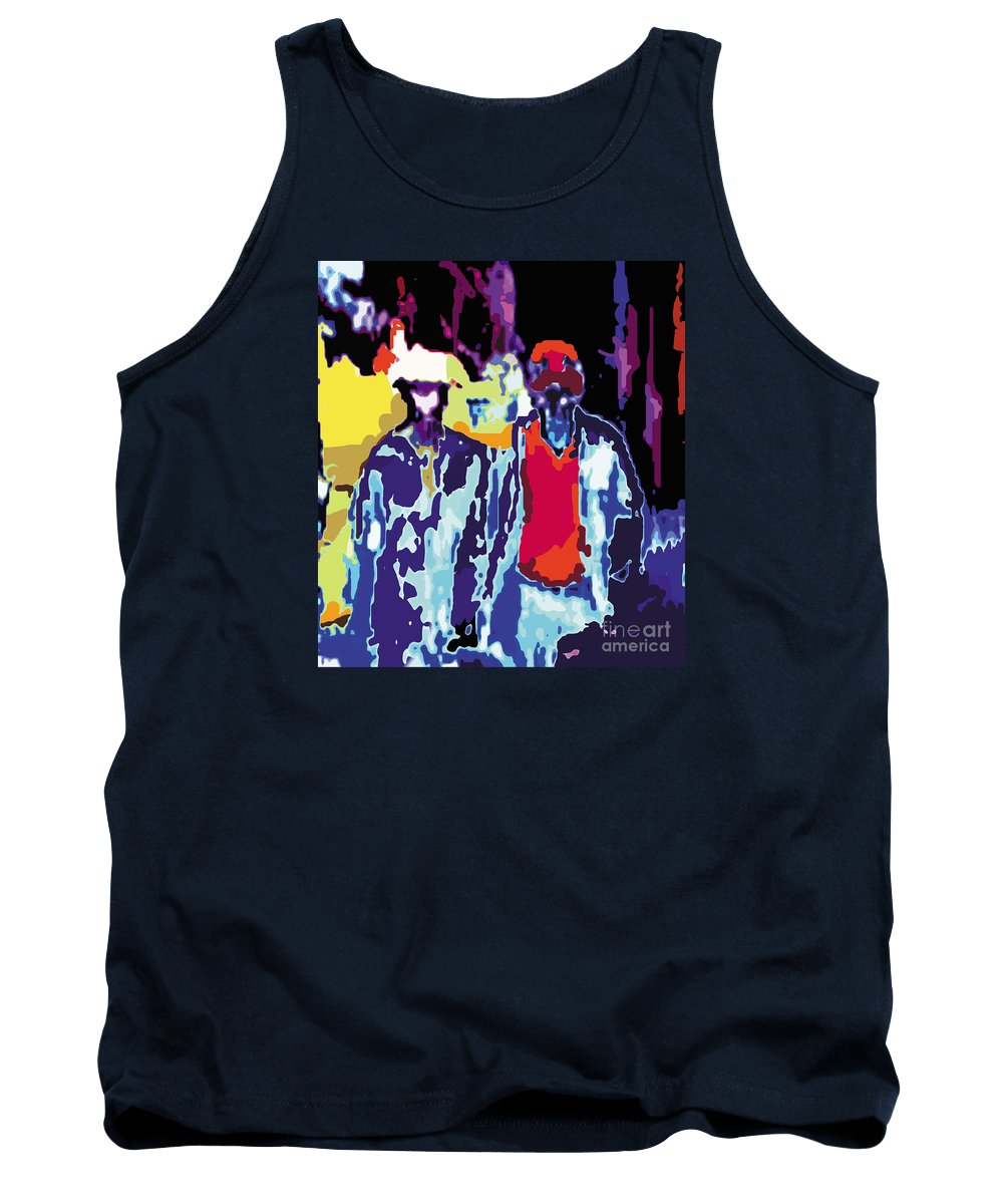 People Tank Top featuring the digital art Dr by Caddelle Faulkner