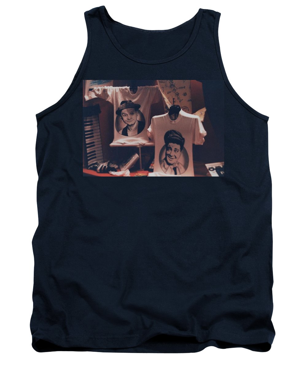 The Honeymooners Tank Top featuring the photograph Ed And Ralphie Boy by Rob Hans