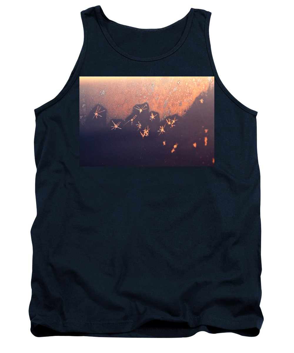 Abstract Tank Top featuring the photograph Eight Miles High by Casper Cammeraat