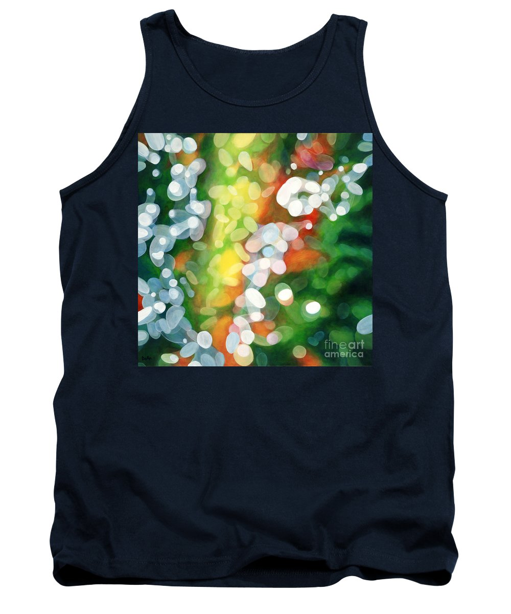 Queen Tank Top featuring the painting Eriu Queen Of The Emerald Isle by Do'an Prajna - Antony Galbraith