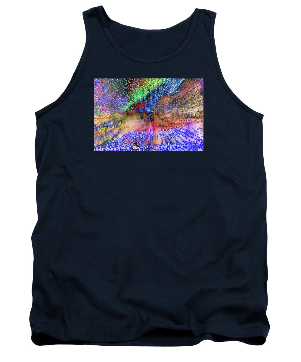 Normal Tank Top featuring the photograph Explosion by Don Zawadiwsky