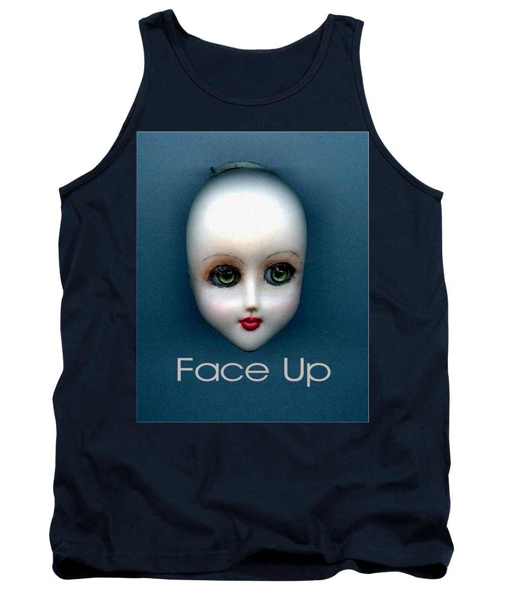 Face Up Tank Top featuring the photograph Face Up by T Cook