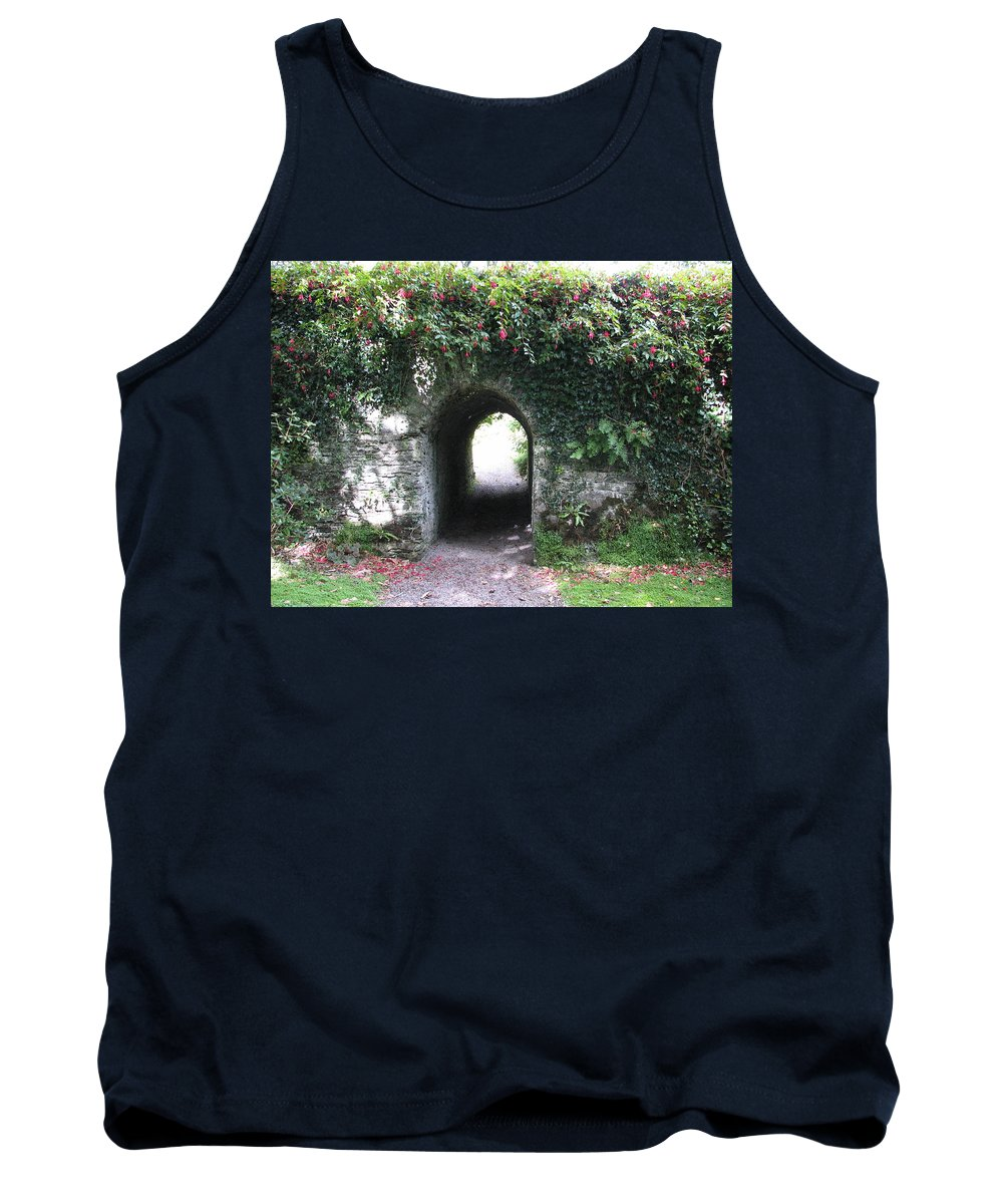 Derrynane Tank Top featuring the photograph Fairy Bridge by Kelly Mezzapelle