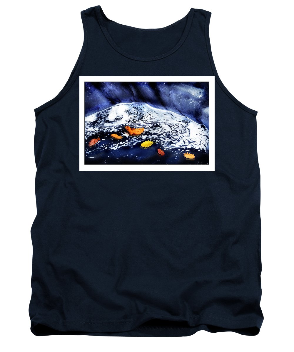 Fall Tank Top featuring the photograph Fall Flotilla by Mal Bray