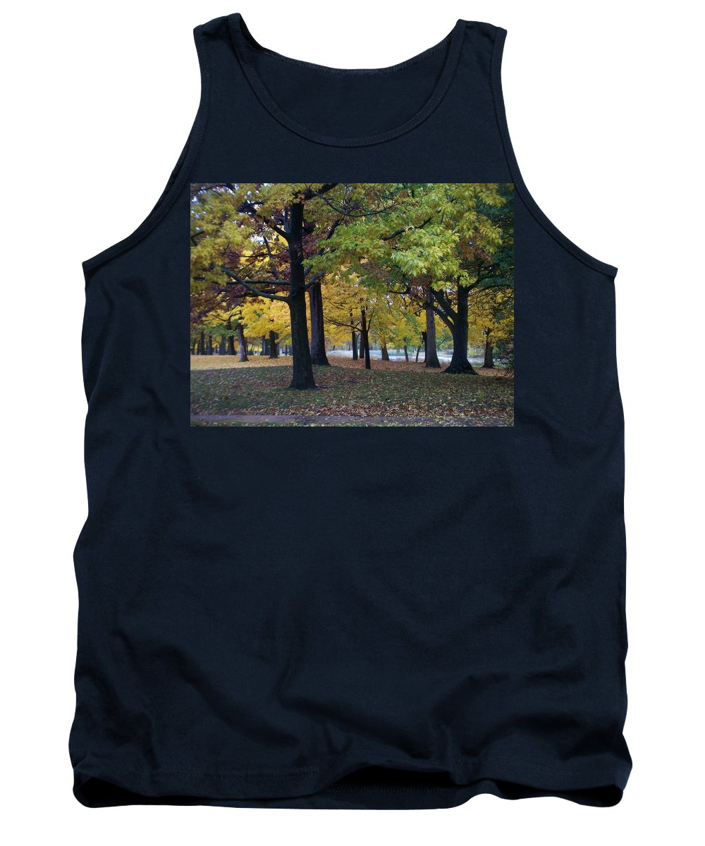 Fall Tank Top featuring the photograph Fall Series 14 by Anita Burgermeister