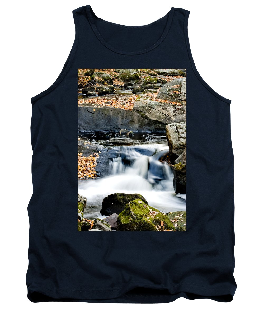 Water Tank Top featuring the photograph Falls In Fall by Greg Fortier