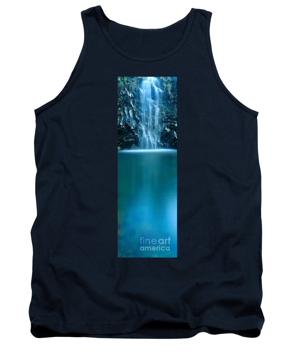 Active Tank Top featuring the photograph Falls Pool by Carl Shaneff - Printscapes