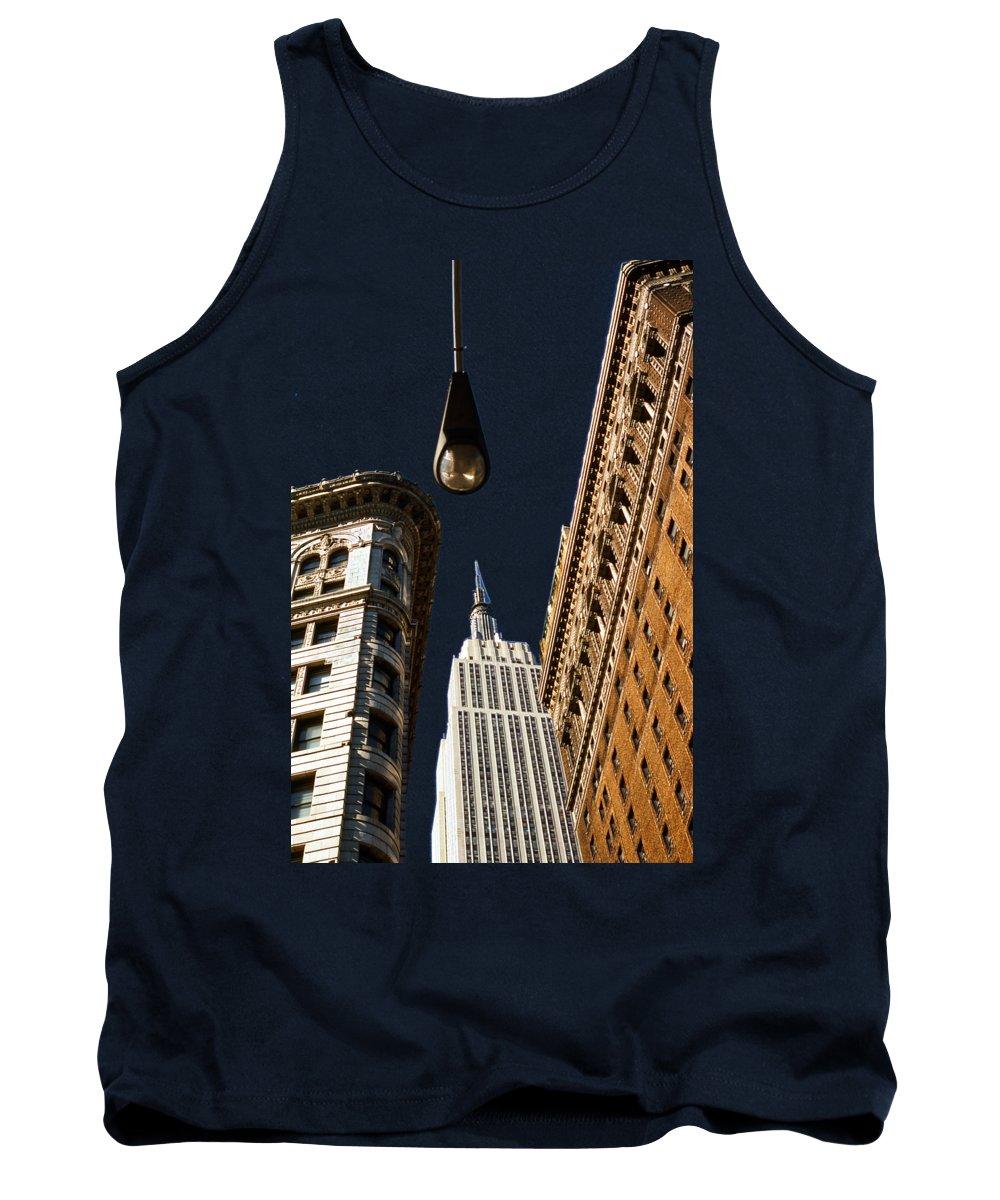 New York City Skyline Photographs Tank Tops