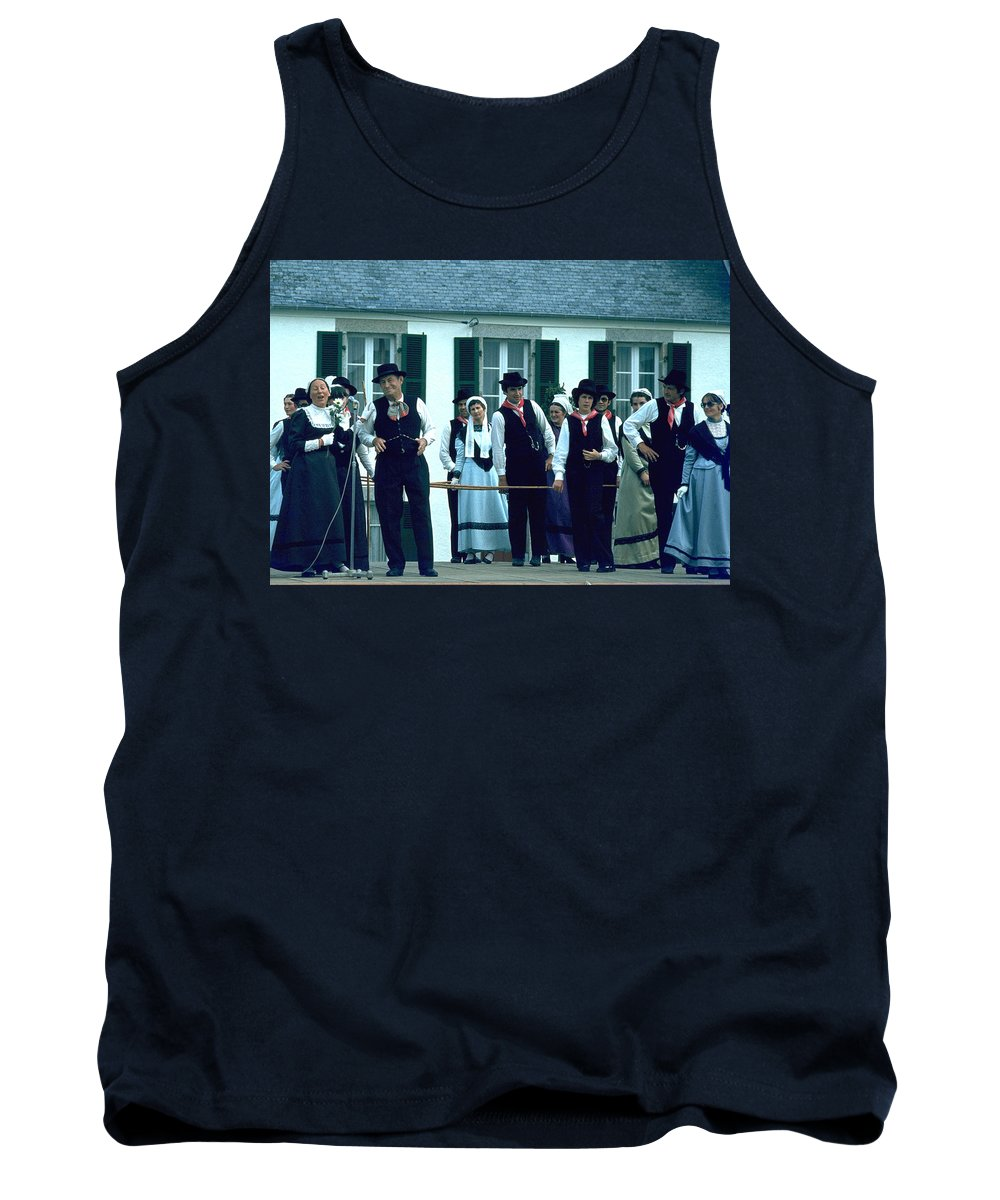 Tradition Tank Top featuring the photograph Folk Music by Flavia Westerwelle