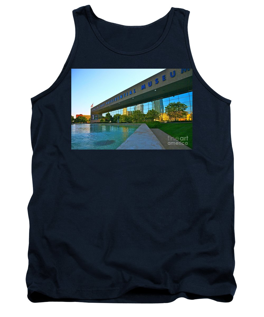 Ford Museum Tank Top featuring the photograph Ford Presidential Museum by Robert Pearson