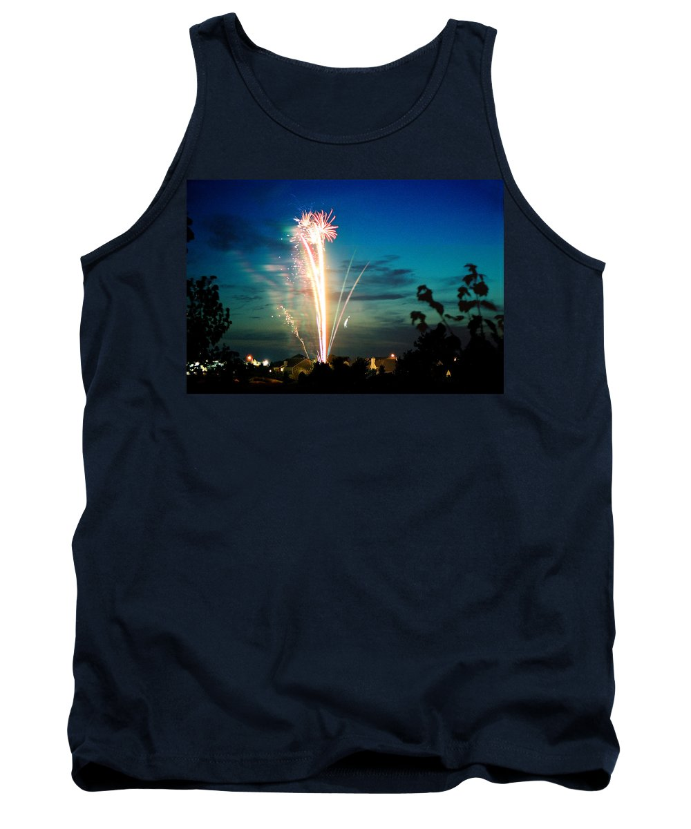 Landscape Tank Top featuring the photograph Fourth Of July by Steve Karol
