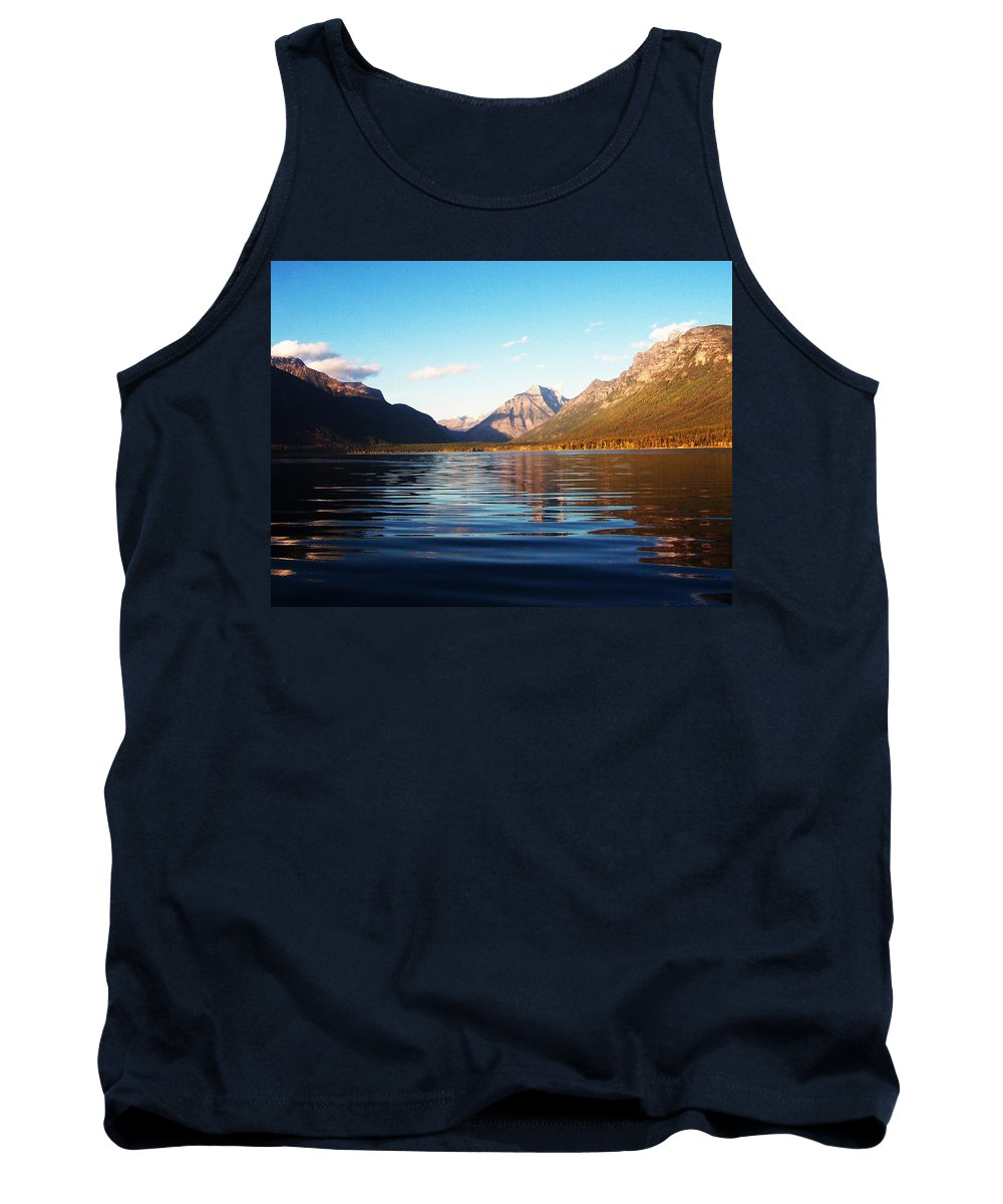 Glacier National Park Tank Top featuring the photograph Glacier National Park 7 by Deahn   Benware