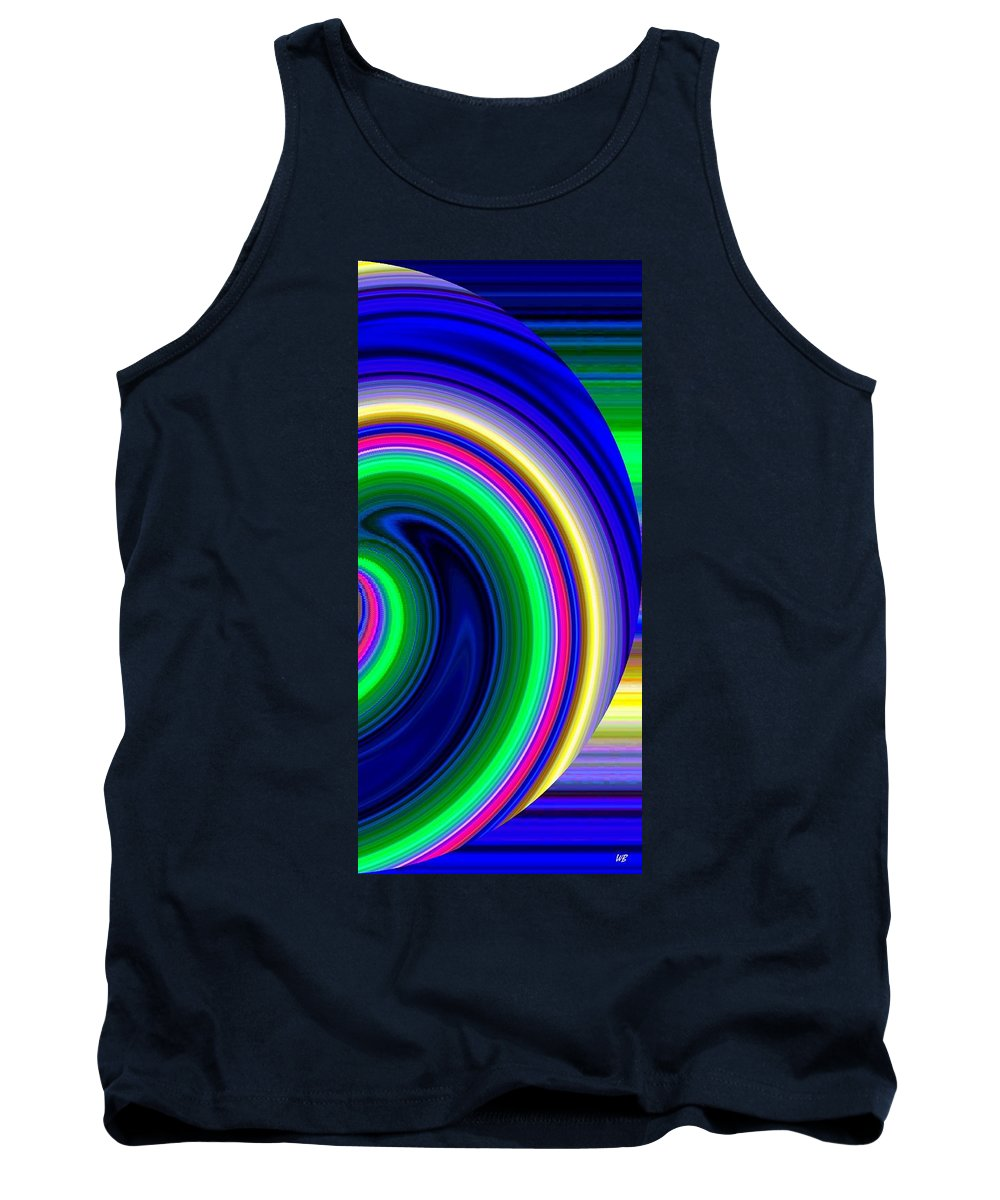 Abstract Tank Top featuring the digital art Harmony 19 by Will Borden