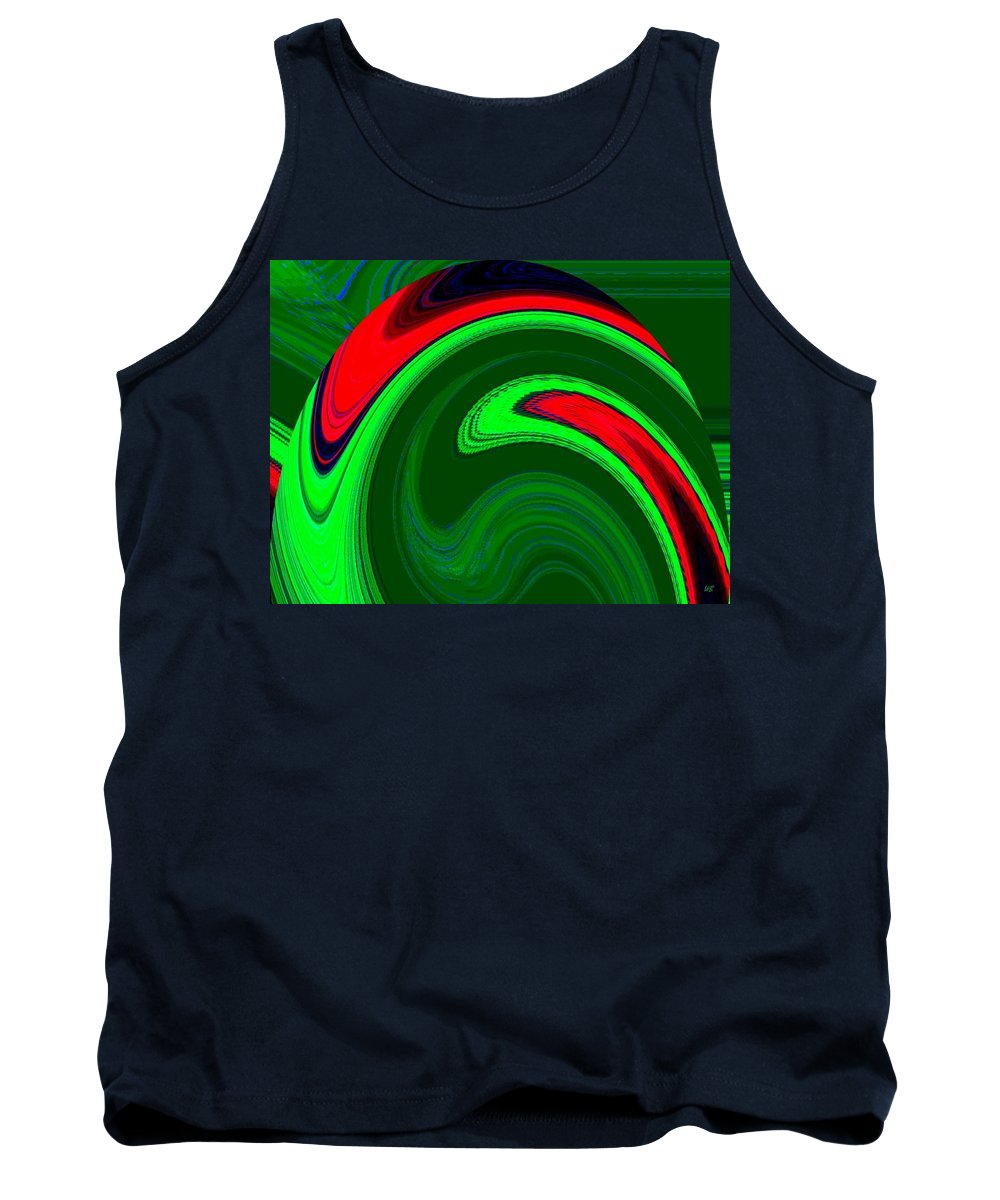 Abstract Tank Top featuring the digital art Harmony 20 by Will Borden