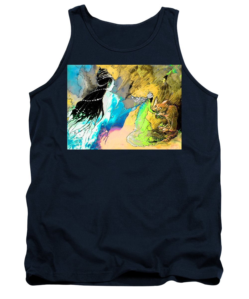 Helen Losse Tank Top featuring the painting Helen Losse by Miki De Goodaboom