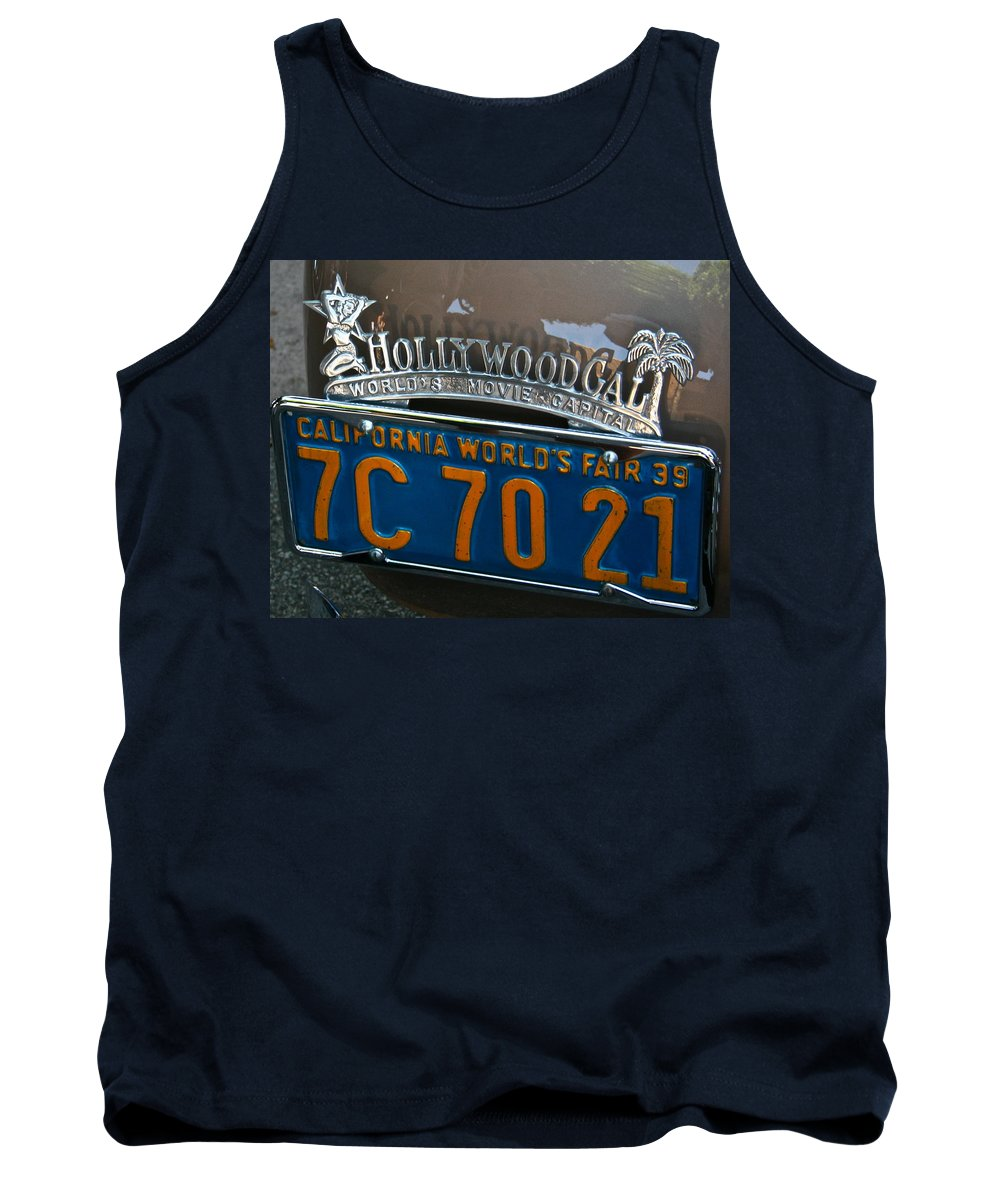Photograph Tank Top featuring the photograph Hollywood by Gwyn Newcombe