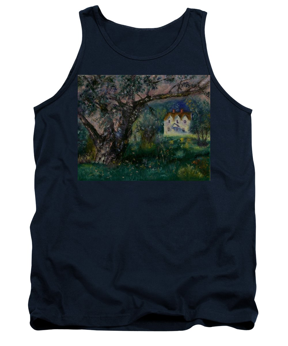 Landscape Tank Top featuring the painting Homestead by Stephen King