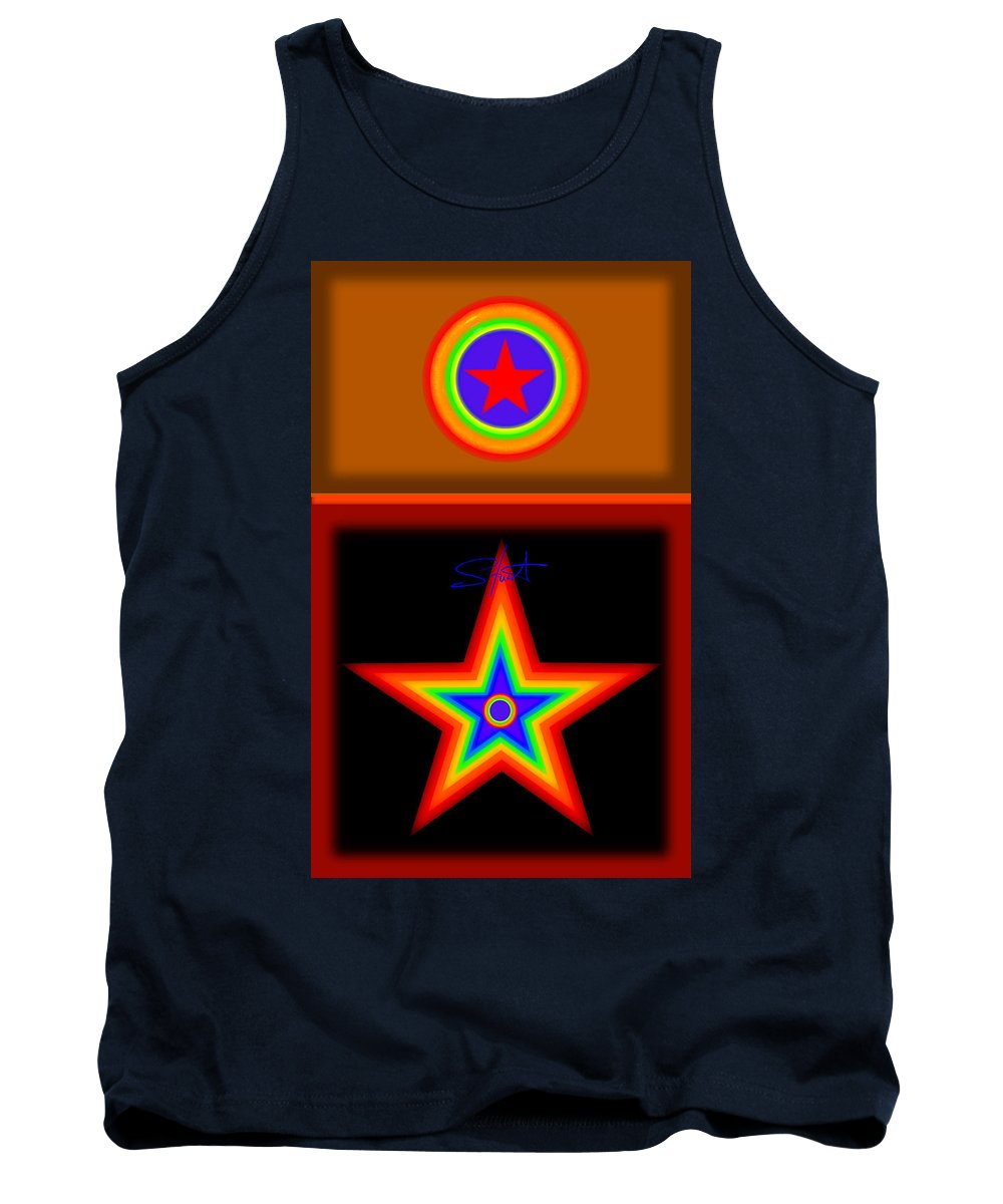 Classical Tank Top featuring the painting Hot Circus Stuff by Charles Stuart