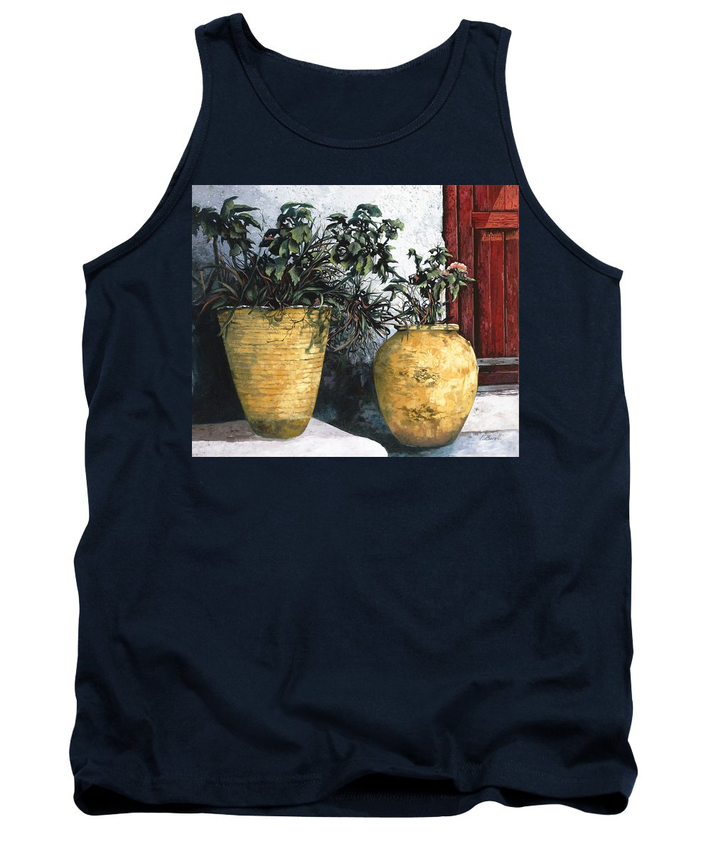 Vases Tank Top featuring the painting I Vasi by Guido Borelli
