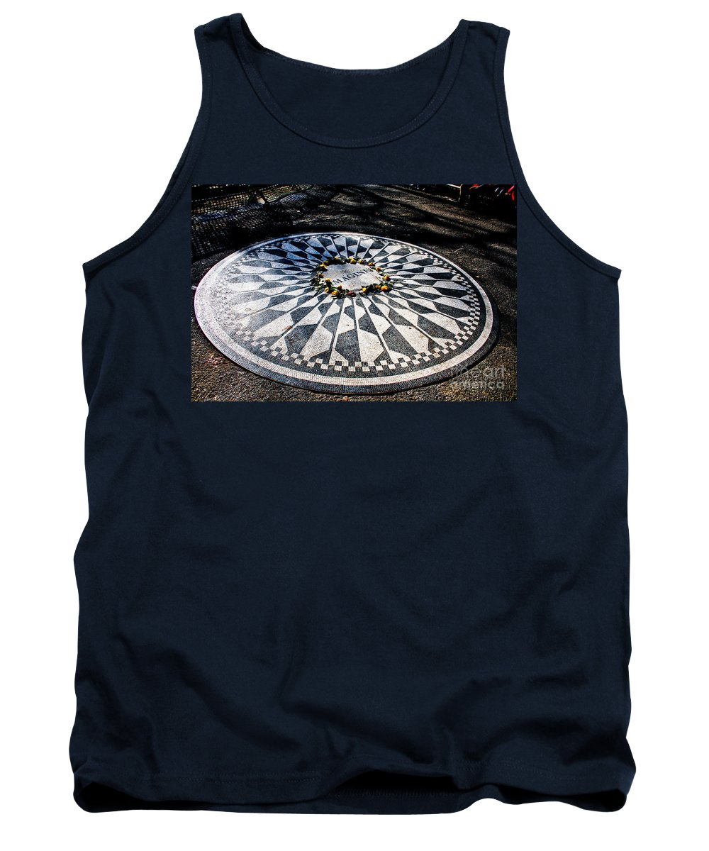 Imagine Tank Top featuring the photograph Imagine by Thomas Marchessault