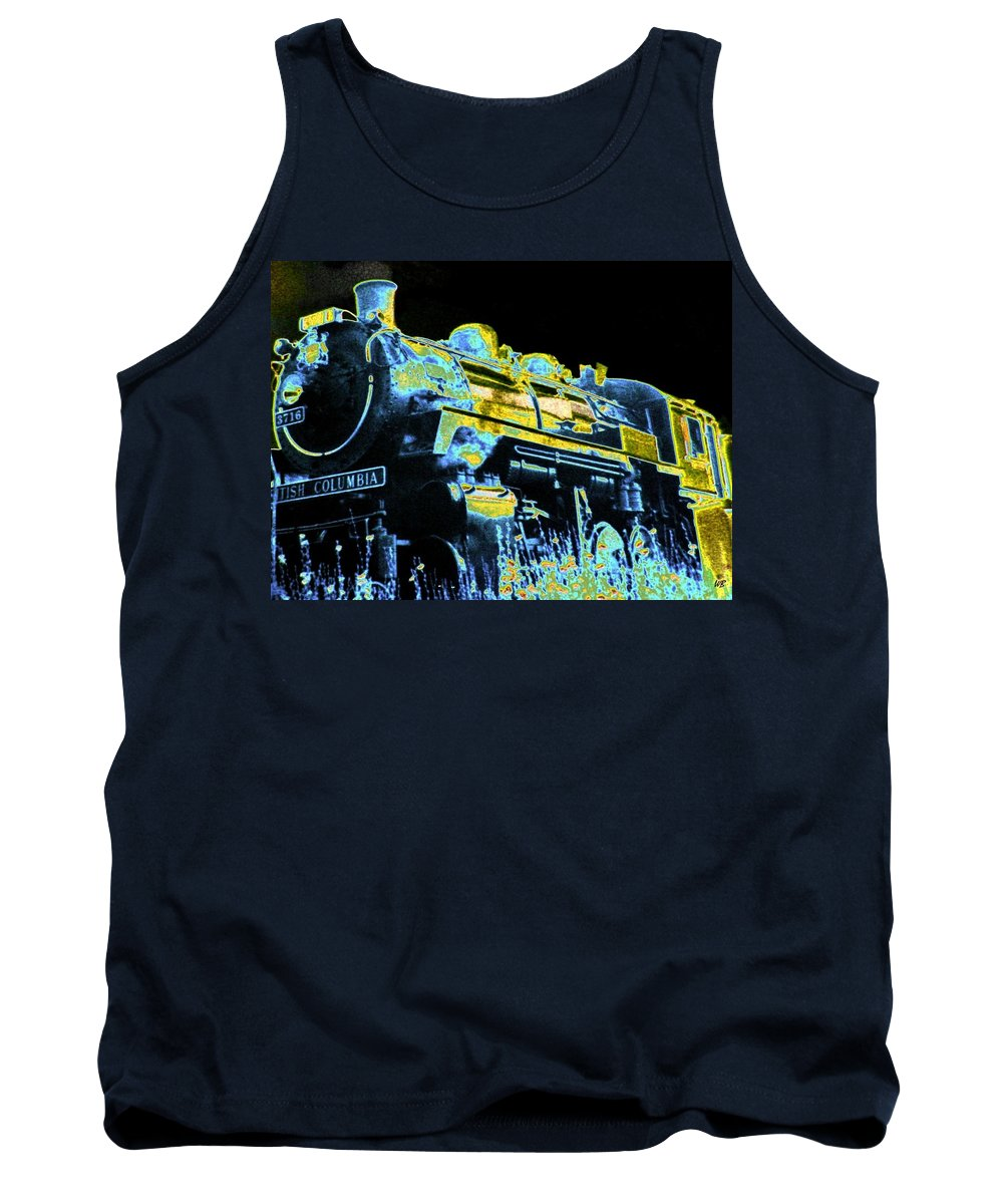 Impressions Tank Top featuring the digital art Impressions 11 by Will Borden