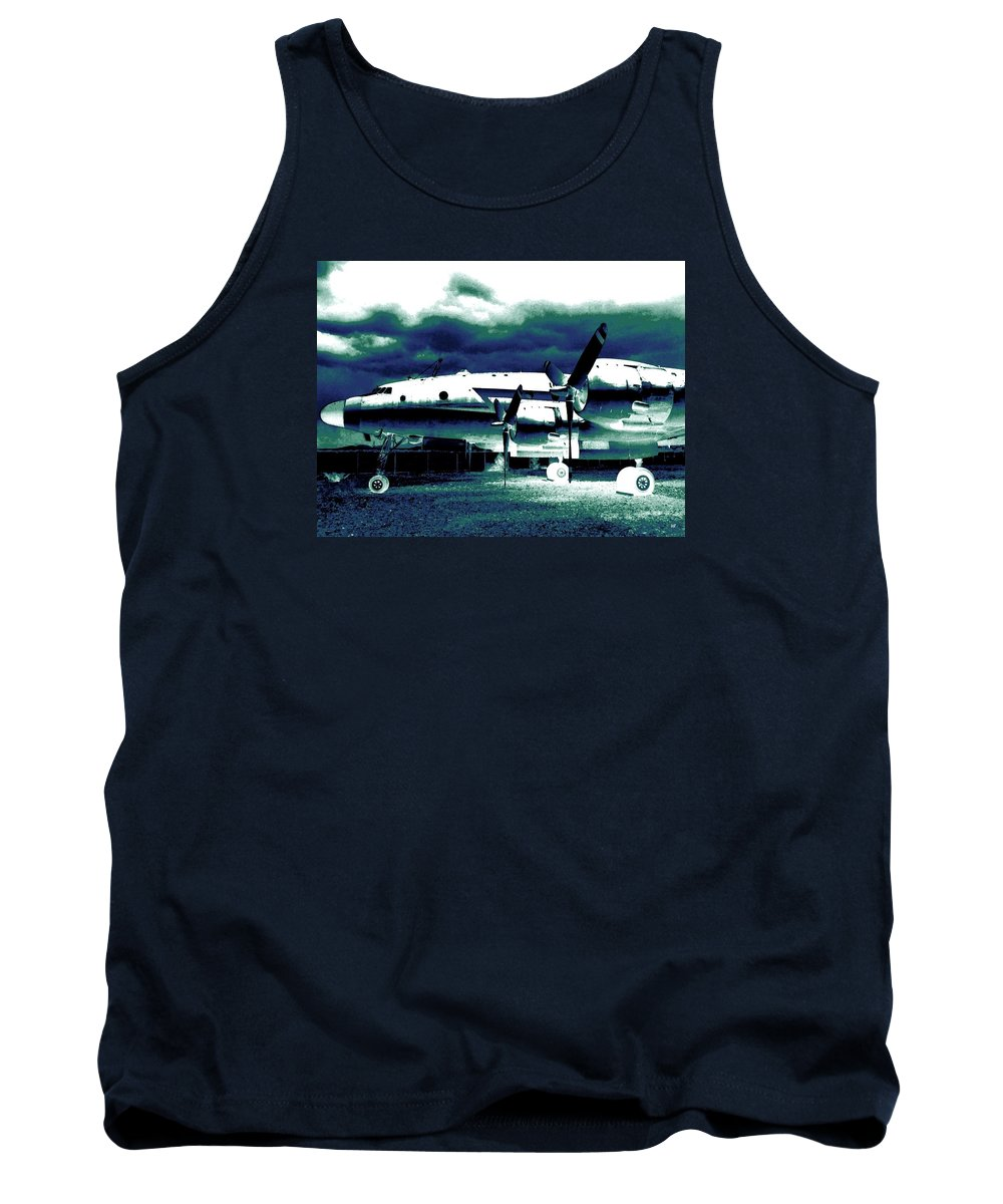 Impressions Tank Top featuring the digital art Impressions 7 by Will Borden
