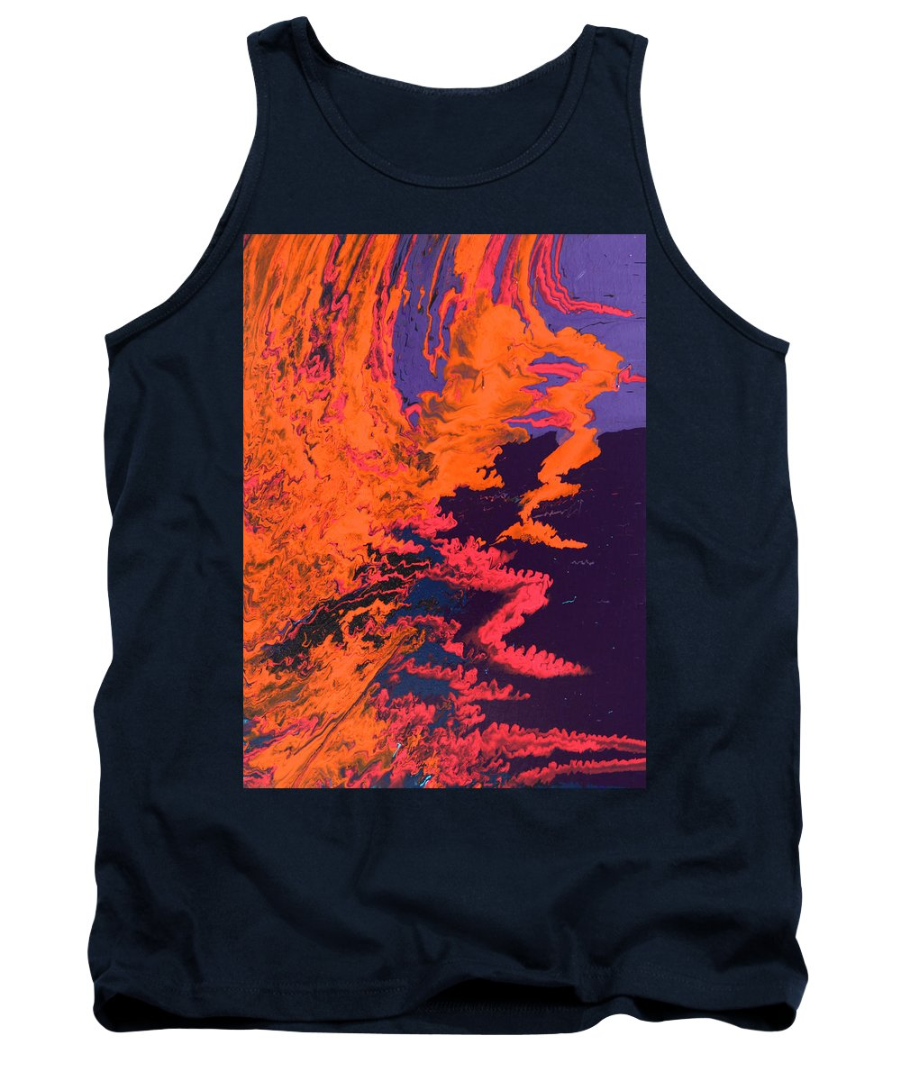Fusionart Tank Top featuring the painting Initiative by Ralph White