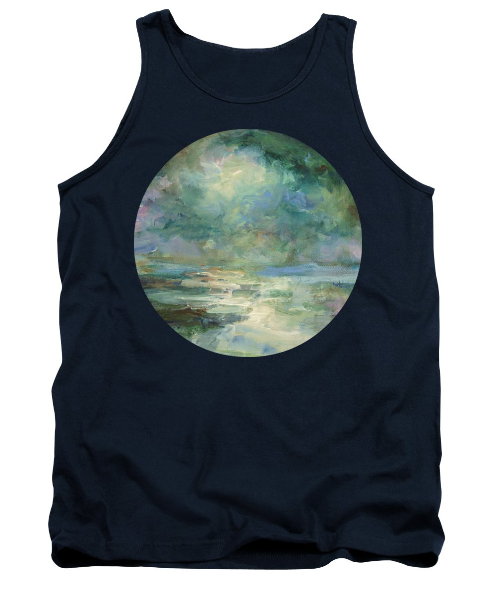 Impressionism Tank Top featuring the painting Into The Light by Mary Wolf
